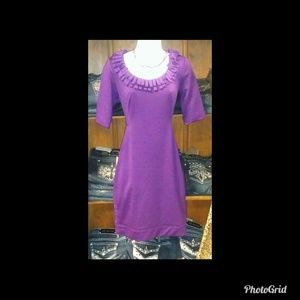 London Times Purple Dress